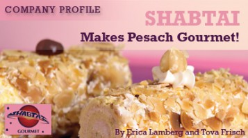 Shabtai Makes Pesach Gourmet!