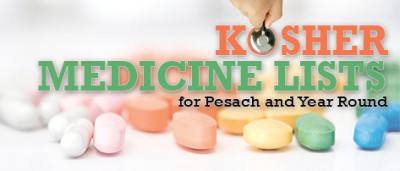 Kosher Medicine List