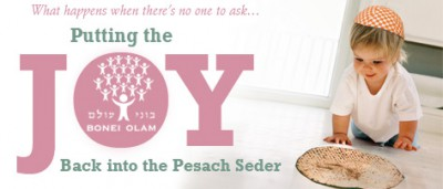 Putting the Joy Back into the Pesach Seder