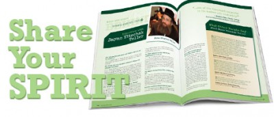 Share Your Spirit – Pesach 5771