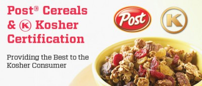 Post Cereals & <i class='icon-OK'>OK</i> Kosher Certification