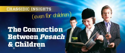 Chassidic Insights: The Connection Between Pesach and Children