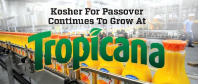 Kosher For Passover Continues To Grow At Tropicana