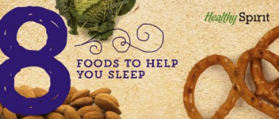 8 Foods to Help You Sleep