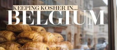 Keeping Kosher in Belgium