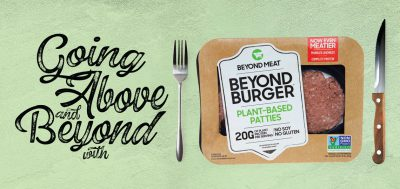 Going Above and Beyond with Beyond Meat