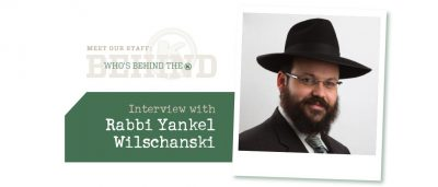 Interview with Rabbi Yankel Wilschansky