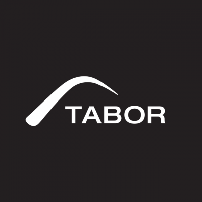 """Tabor Winery Logo: """"Tabor"""" In White Letters"""