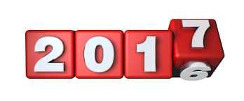 Four Red Blocks With Numbers Changing From 2017 to 2018