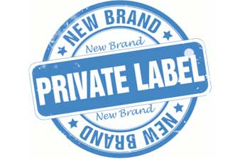 Sticker For New Brands with a Private Label for Kosher Applications