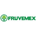 """Fruvemex Logo: A Green Tree Surrounded By A Circle With """"Fruvemex"""" Next To It in Green Letters"""